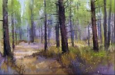 Landscape painting by Richard McKinley | Horizon Fine Art Gallery : Jackson Hole Art Gallery, Jackson, Wyoming