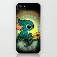 Swimming Stitch iPhone & iPod Case by Alohalani - $35.00  I would love this!!