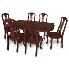 Rosewood French Style Dining Table