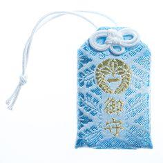 Omamori temple talisman japanese amulet from Kiko-ji temple in Nara