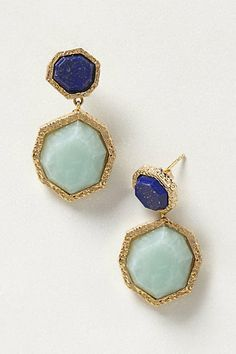 Might be a nice pop of color to compliment the bridesmaids dresses. Tesserae Drops #anthropologie