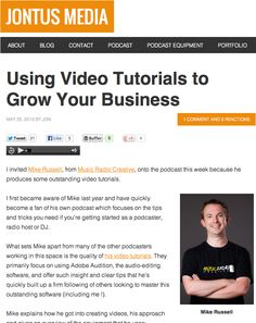 Using Video Tutorials to Grow Your Business From Tucker Tucker Russell Inbound Marketing, Business Marketing, Social Media Marketing, Google Plus, Video Channel, Music Radio, Always Learning, Growing Your Business, Video Tutorials