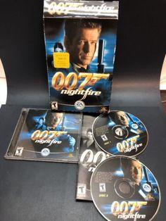 James Bond 007 NightFire Computer Game (PC, 2002) complete