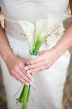 Calla Lily simple bouquet for my bridesmaids. Lily Bouquet Wedding, Calla Lily Bouquet, Lace Wedding Dress, Fall Wedding Dresses, Bridesmaid Flowers, Colored Wedding Dresses, Cheap Wedding Dress, Wedding Flowers, Calla Lilies
