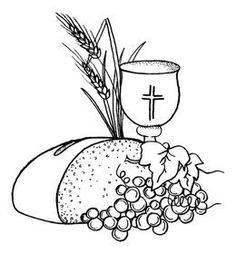 First communion colouring Première Communion, First Holy Communion, Catholic Crafts, Catholic Art, Pinterest Diy Crafts, Christian Artwork, Bible Pictures, Christian Symbols, Church Banners