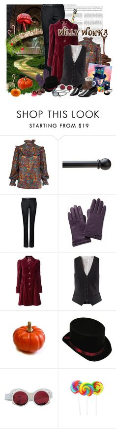 """""""Willy Wonka, Willy Wonka, the amazing chocolatier"""" by jesuisunlapin ❤ liked on Polyvore featuring Yves Saint Laurent, MANGO, Banana Republic, Monsoon, H&M, Zimmermann, Sarah Chofakian and Clé de Peau Beauté"""