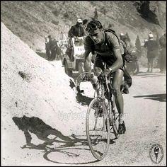Tour de France 1951. 25-07-1951, 20^Tappa. Gap - Briançon. Col d'Izoard. Hugo Koblet (1925-1964)