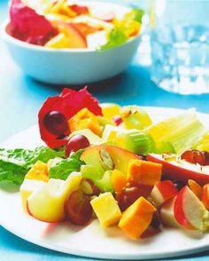 Fruity Three-Cheese Salad