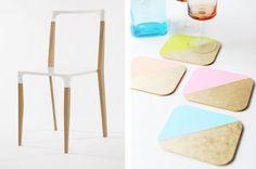 Lee Caroline - A World of Inspiration: Dip Dye DIY - Interiors, Homeware, Crafts & More