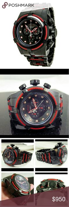 NWT $3,000 Invicta Bolt Zeus Chronograph watch NWT $3,000 Invicta Men's Bolt Chronograph Black Dial Black Ion-Plated Stainless Steel Watch   FIRM PRICE FIRM PRICE FIRM PRICE  $850.00 . AUTHENTIC WATCH  . AUTHENTIC BOX  . AUTHENTIC MANUAL    SHIPPING  PLEASE ALLOW FEW BUSINESS DAYS FOR ME TO SHIPPED IT OFF.I HAVE TO GET IT FROM MY WAREHOUSE.    THANK YOU FOR YOUR UNDERSTANDING. Invicta  Accessories Watches