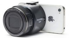 The Kodak PixPro smart lens cameras.