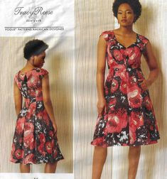 Vogue Sewing Pattern Dress Fitted Lined Underskirt Tracy Reese Vogue Size 6 8 10 12 14 or 14 16 18 20 22 Misses Plus Size UNCUT Vogue Sewing Patterns, Vintage Sewing Patterns, Dress Making Patterns, Pleated Bodice, Miss Dress, Tracy Reese, Flare Skirt, Pattern Dress, Skirt Suit