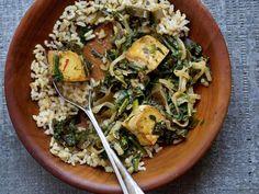 Saag tofu con Kombu