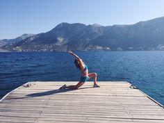 yoga yamas for world travels   sasha yoga + wellness + @hydeyoga   #yogaeverywhere #greece #yamas