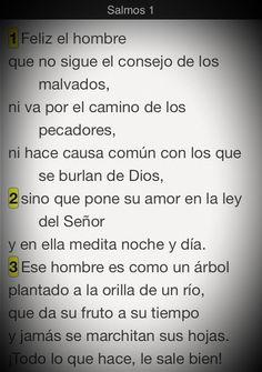 Secreto para el éxito en la vida: #Promesa Salmo 1:1-3