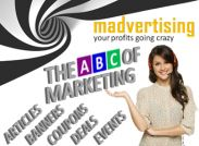 THE ABC OF MARKETING - Articles, Banners, Coupons, Deals, Events, Free Shopping (really!)...<br /> YOU NAME IT - WE GOT IT!<br />