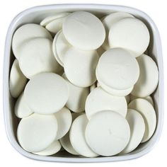 Super White Candy Melts - Merckens from: Layer Cake Shop Chocolate Molds, Melting Chocolate, White Chocolate, Cake Decorating Supplies, Baking Supplies, Cake Truffles, Super White, Candy Melts, Candy Making
