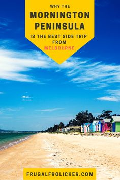 The Mornington Peninsula is the best side trip from Melbourne. #travel #australia / / / / / Check out more travel photos and blog posts on my travel blog, frugalfrolicker.com