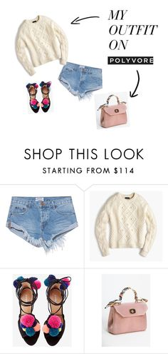 """""""Simple Outfit"""" by nadyanataliaa on Polyvore featuring OneTeaspoon and J.Crew"""