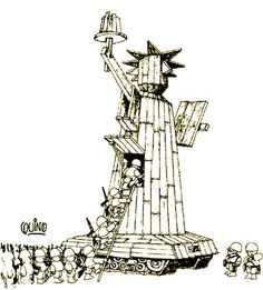 "We bring you ""freedom""! From Argentinean master cartoonist Quino. Satirical Illustrations, Ink Illustrations, Graphic Illustration, Graphic Art, Political Images, Political Art, Political Cartoons, Bd Comics, Humor Grafico"