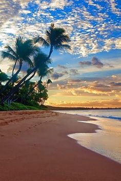 Sunrise under Hawaiian skies.