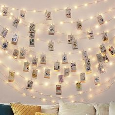 "Add some spark to your decor with these fairy light strings and clips. Made of copper wire and LED light bulbs. Emitting light color: Warm white. Photo clips included. 2 X AA batteries required (not included) for the 6'6"" length. 3 X AA batteries required (not included) for the 16'4"" and 32'8"" lengths.  Optional USB charger for the 32'8"" length. Free Worldwide Shipping & 100% Money-Back Guarantee"
