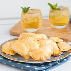 Baked pasties made with a special cream and butter pastry and a scrumptious corn and herb filling. The perfect appetizer!