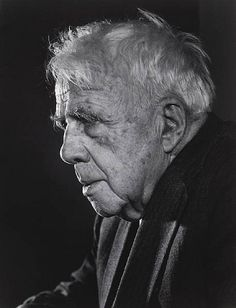 Robert Frost by Yousuf Karsh
