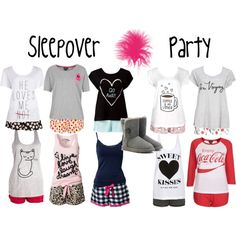"""""""Sleepover Party!"""" by parisdsigner on Polyvore"""