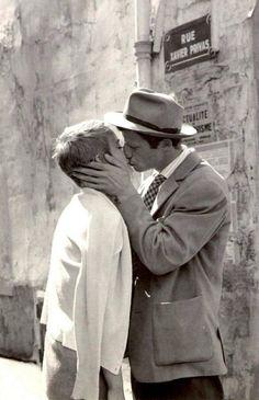 Jean Seberg y Jean Paul Belmondo - Sin Aliento