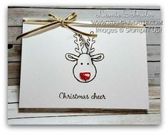 Christmas Cheer (Stamp A Latte - Stampin Up! with Leonie Schroder)