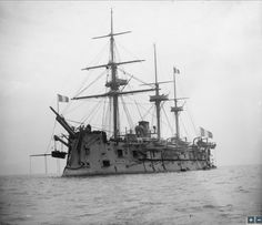 "Wooden battleship ""Marengo"", 1892"
