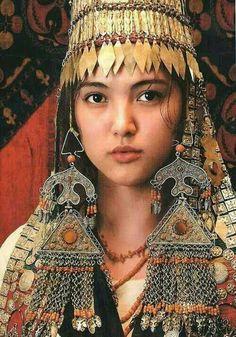 Kyrgiz woman