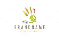 For sale. Only $29 - plant, nature, creative, work, natural, food, healthy, pepper, farm, organic, palm, sustainable, farming, earthy, hand, eat, human, garden, vegetable, finger, farmer, salad, carrot, corn, veggie, peas, beet, imprint, vitamin, nutrition, restaurant, biotechnology, agriculture, logo, design, template,