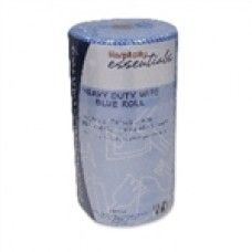 """WIPES HEAVY DUTY BLUE ROLL 30CM X 50CM X 85PCE/ROLL 6/CTN $90.75 Wipes can be used to clean up quick spills or dirty areas in a flash. Affordable and more sanitary than cloths that can harbor germs, it""""s a smart move that will offer the peace of mind knowing areas are sanitized, safe and clean."""
