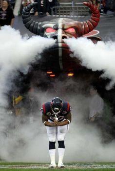 Texans running back Arian Foster (23)  - Namaste!