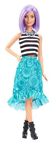 With a ton of new looks the Barbie Fashionistas dolls offer real-world diversity and fashion options for endless styling fun! Just like your friends these cool dolls -- each with a unique style -- h...