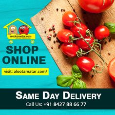 Now you can #shop_online #fruits & #vegetables at : www.alootamatar.com  For more details call us: +918427886677   Our delivery areas: #Chandigarh, #Panchkula, #Mohali