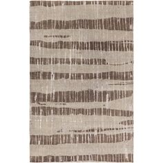 Candice Olson : Hand-Knotted Teviot Stipe Indoor Rug