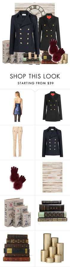 """""""pink paris"""" by donna-wang1 ❤ liked on Polyvore featuring Milly, Hilfiger, Balmain, Yves Saint Laurent, Kate Spade, Loloi Rugs, Home Decorators Collection, ferm LIVING and Pier 1 Imports"""