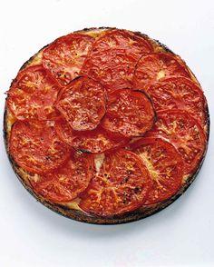 Crustless Tomato-Ricotta Tart