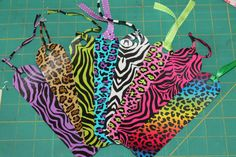Duck Duct Tape Bookmarks Animal Print
