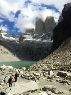 Parque Nacional Torres del Paine em Puerto Natales, Magallanes y de la Antártica Chilena