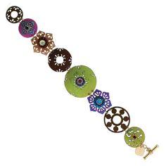 Holly Yashi Northern Lights bracelet