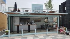Modified Container House Coffee Shop / Take-away Restautant