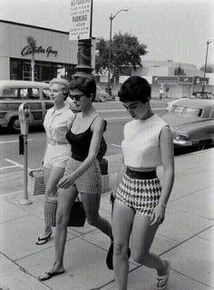 Estilo das garotas em 1950