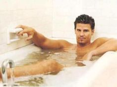 David in a tub. my oh (guilty pleasure)  my!