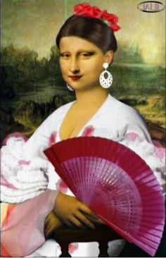monalisa español Mona Lisa -More Pins Like This At : FOSTERGINGER @ Pinterest.