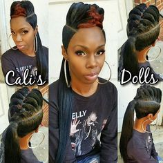#ponytail #quickweave #scstylist #nohairout
