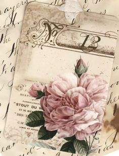 Vintage Look French Rose